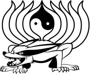 Kyubi chakras by Radaghast