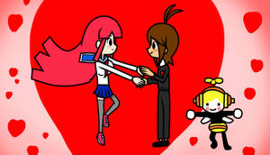 Valentine day by Bumblebee man by Gamer5444