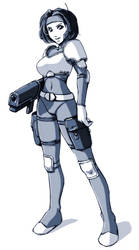 X-Com Trooper by drcloud