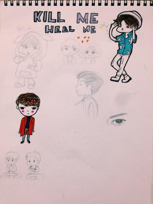 Kill me heal me fan art by hogwartsayolcu on DeviantArt