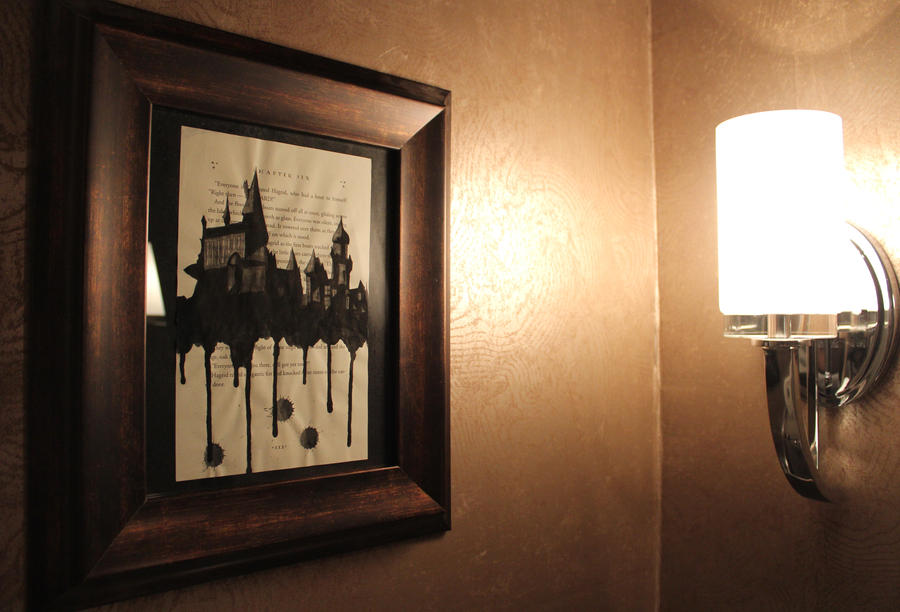 Hogwarts Watercolor by FunkBlast