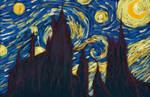 Starry Night at Hogwarts