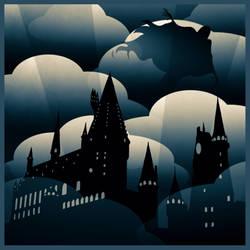 Hogwarts Deco by FunkBlast