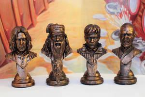 Harry Potter Busts by FunkBlast