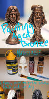 Easy Tutorial: Painting Aged Bronze (Snape Statue) by FunkBlast
