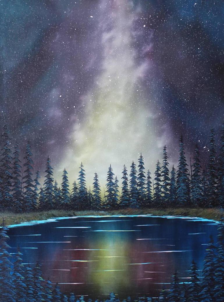 Galaxy Lake by FunkBlast