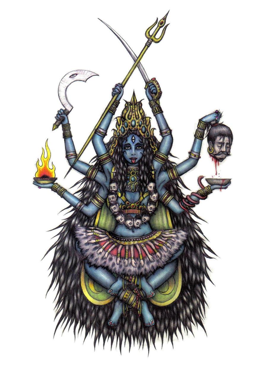 goddess of kali Kali goddess hindu india indian durga painting god spiritual shakti devi shiva hindu goddess goddess kali yoga yantra mother meditation hinduism buddhism religion women mythology mystical mandala we've shipped over 1 million items worldwide for our 500,000+ artists.