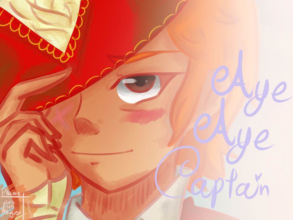 Aye aye captain by chikinrise on DeviantArt