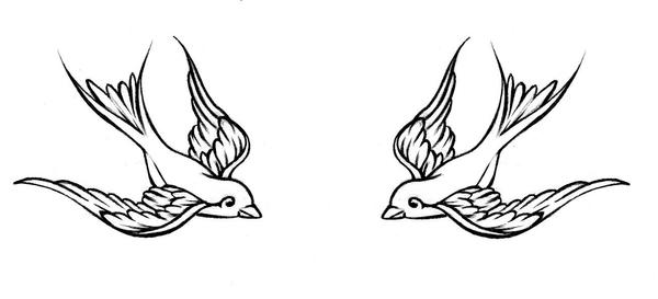 Sparrow tattoo by jessicacanvas on deviantart for Traditional sparrow tattoo