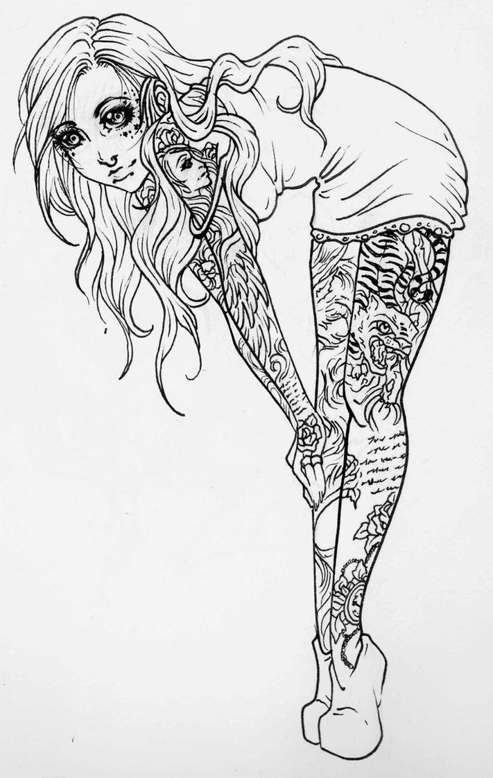 PinUp Tats by JessicaCanvas
