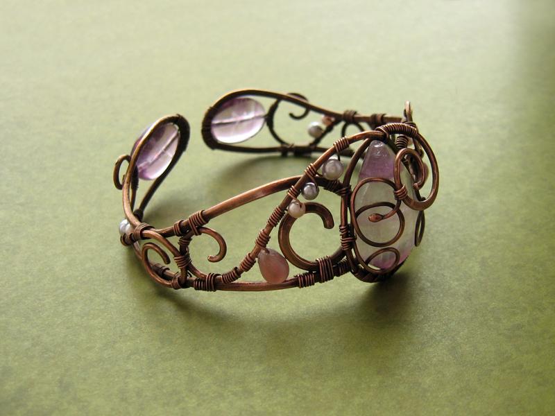 "Bracelet ""Viola"" by UrsulaOT"