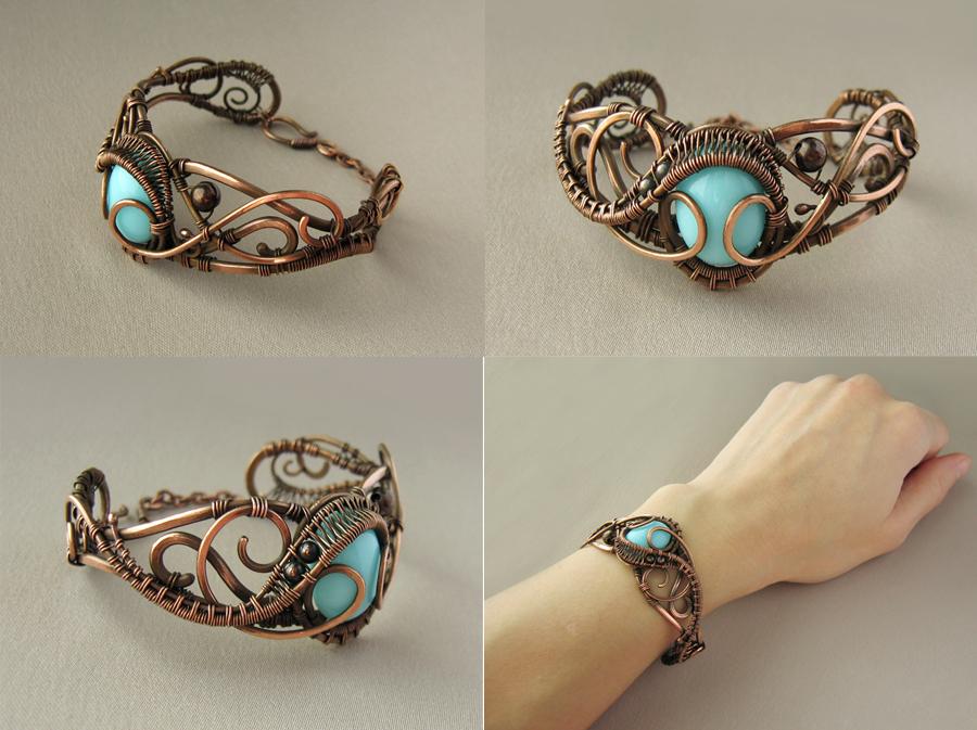 """Bracelet """"Leila"""" by UrsulaOT"""