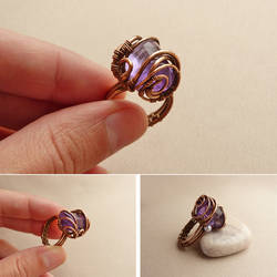 Candy the ring by UrsulaJewelry