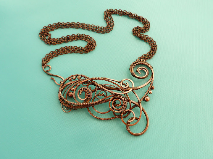 Necklace Reicha by UrsulaJewelry
