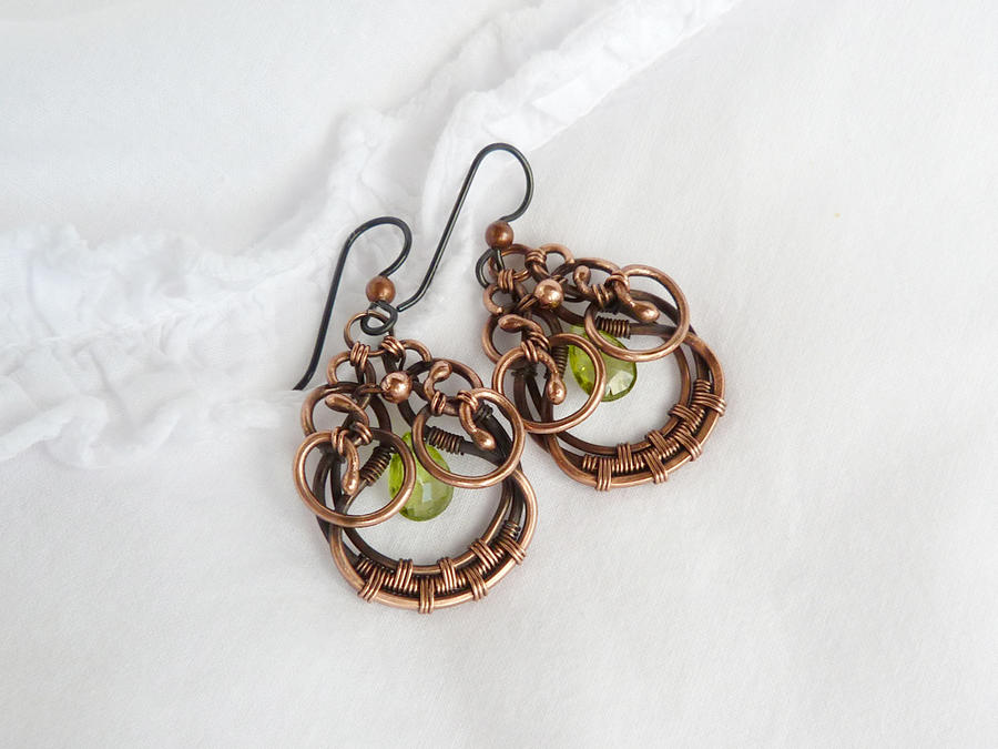 Sparkling earrings by UrsulaOT