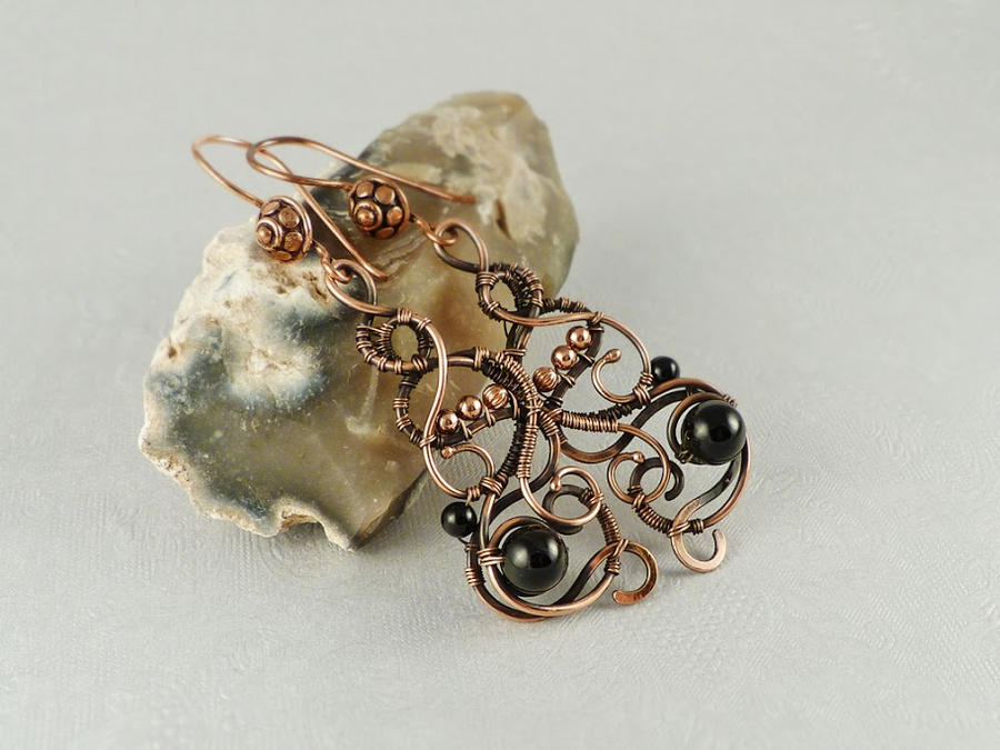 Francesca earrings by UrsulaOT