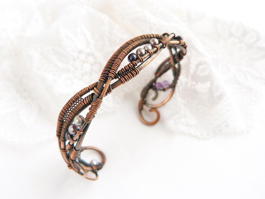 Bracelet Grapes by UrsulaOT