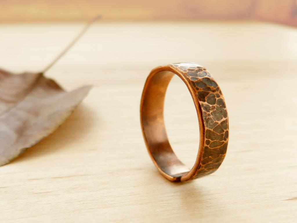 Медные кольца своими руками