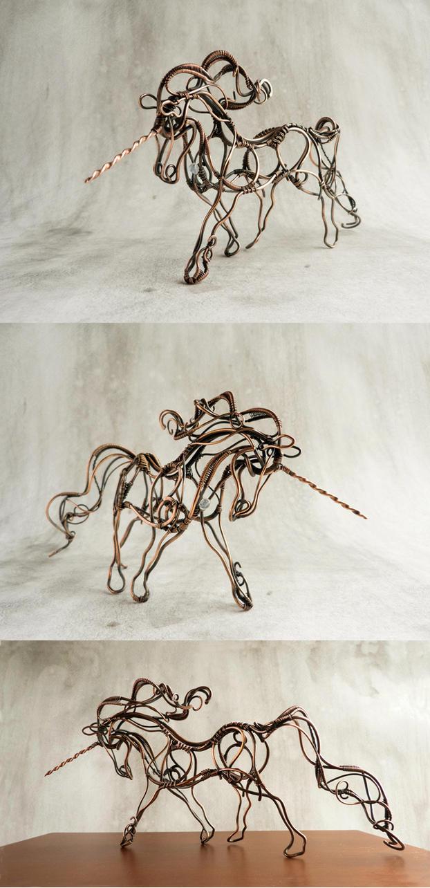 Wire Unicorn By Ursulajewelry On Deviantart