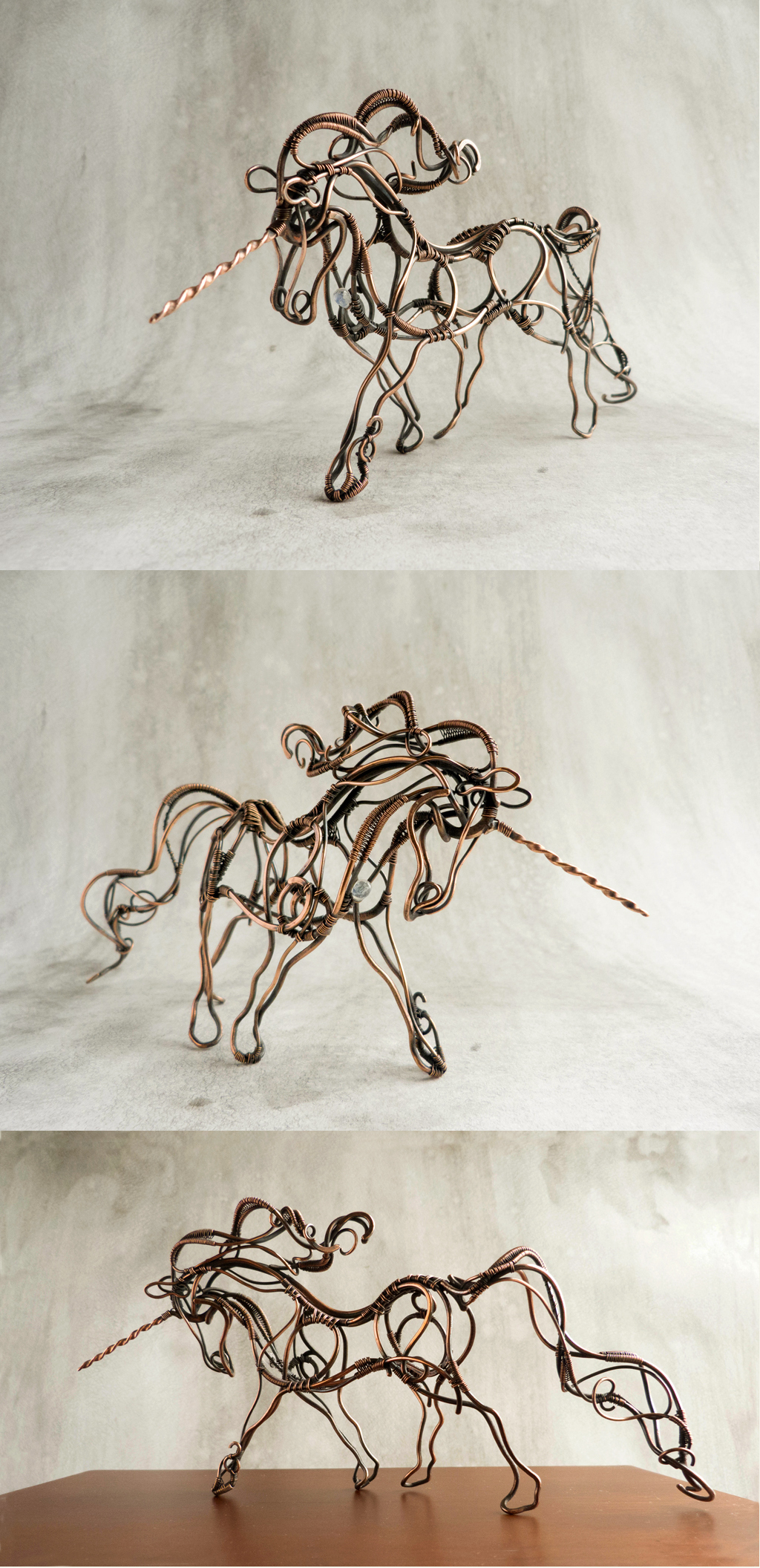 Wire Unicorn by UrsulaOT