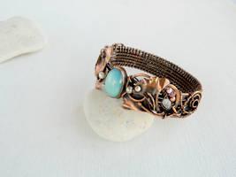 Ginkgo bracelet by UrsulaJewelry