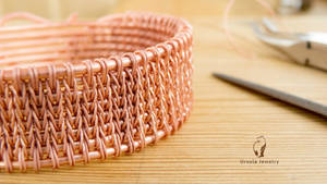 Weave like knitting - free video tutorial