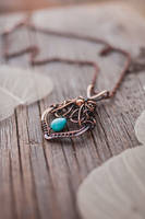 Romantic leaf by UrsulaJewelry
