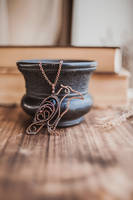 Raven necklace by UrsulaJewelry