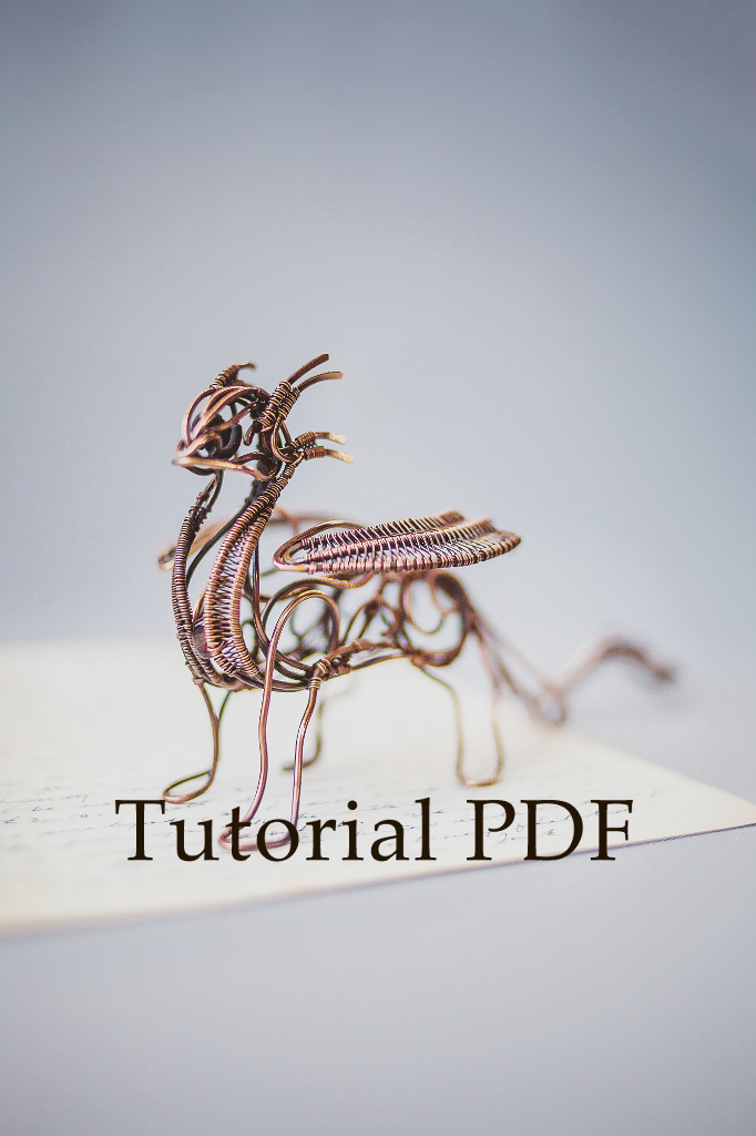 Ursulajewelry dragon tut by ursulajewelry on deviantart for How to make a wire sculpture
