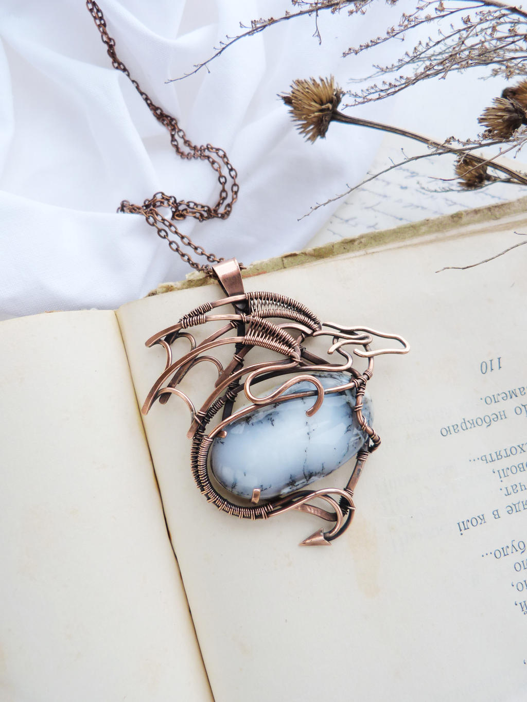 Mother of Dragons pendant by UrsulaJewelry