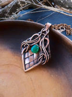 Dragon's scales pendant by UrsulaJewelry
