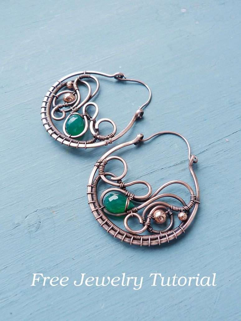DIY project - Large earring tutorial by UrsulaJewelry on DeviantArt