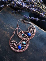 Blue circles by UrsulaJewelry
