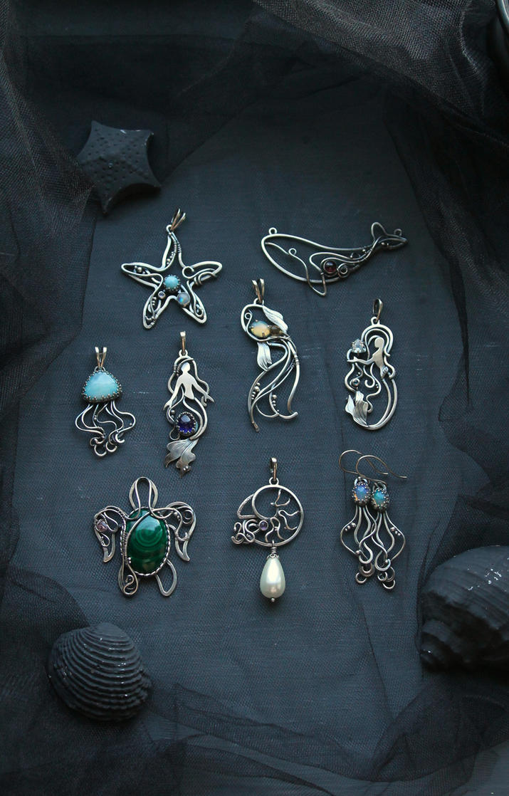 Ocean collection by UrsulaJewelry