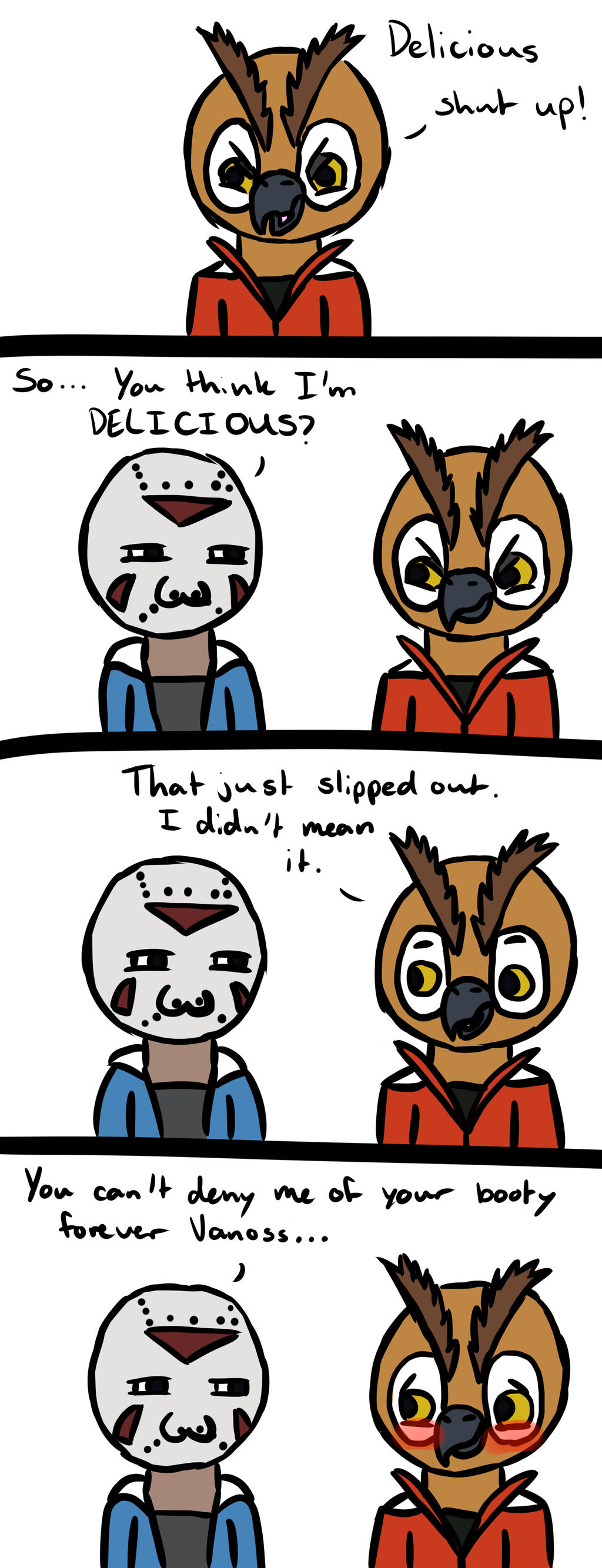H2OVanoss Comic Moments - Delicious by KoopaQueenEternal ... H20 Delirious Drawings