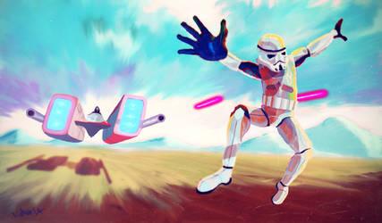 Star Wars Candyland by TeijoLahtinen