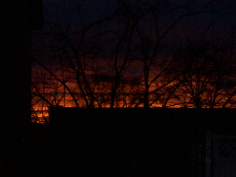Firey Sunset 4