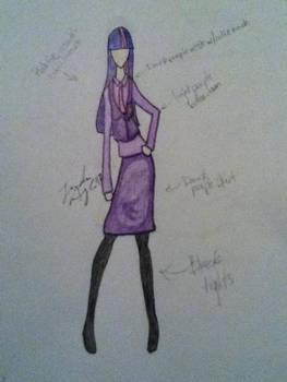Twilight Sparkle Cosplay Design