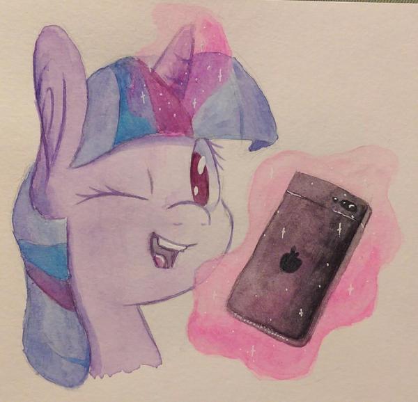 Selfie Princess by Flowbish