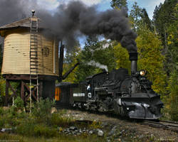 Durango Silverton RR 473 by Pavloff-Photos