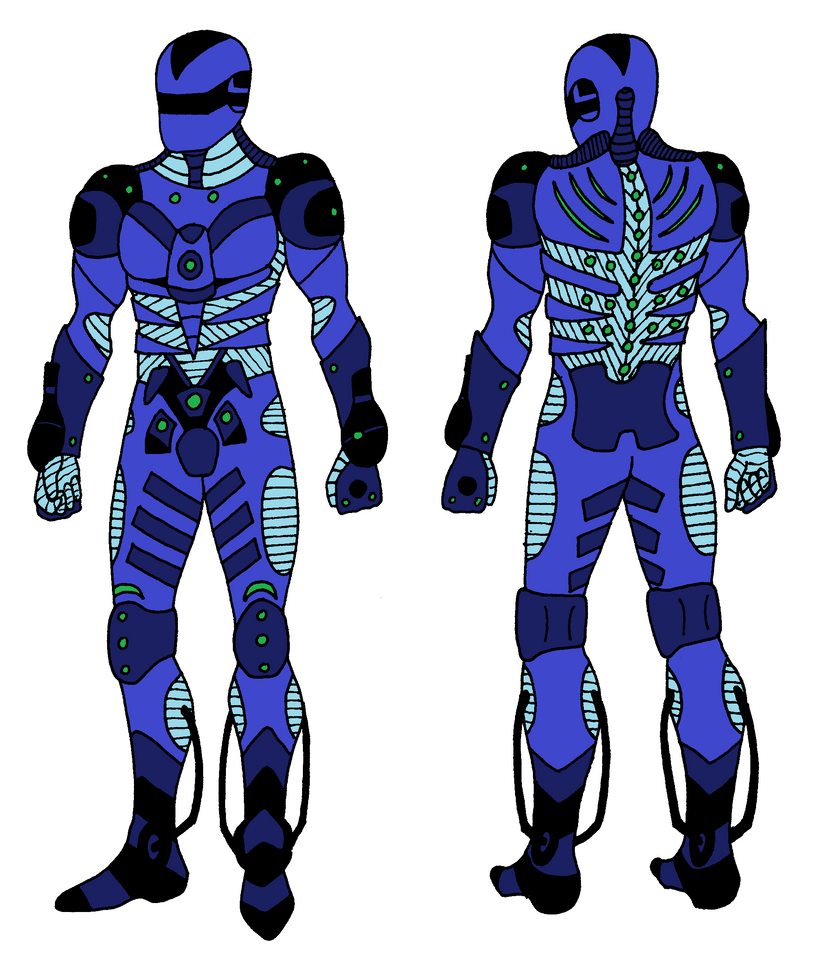 Vanquish Style Armour by CaptainSamG on DeviantArt