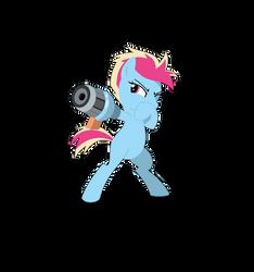 Arm Cannon Pony by Lavendus