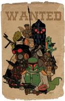 Bounty Hunters color by tedkordlives