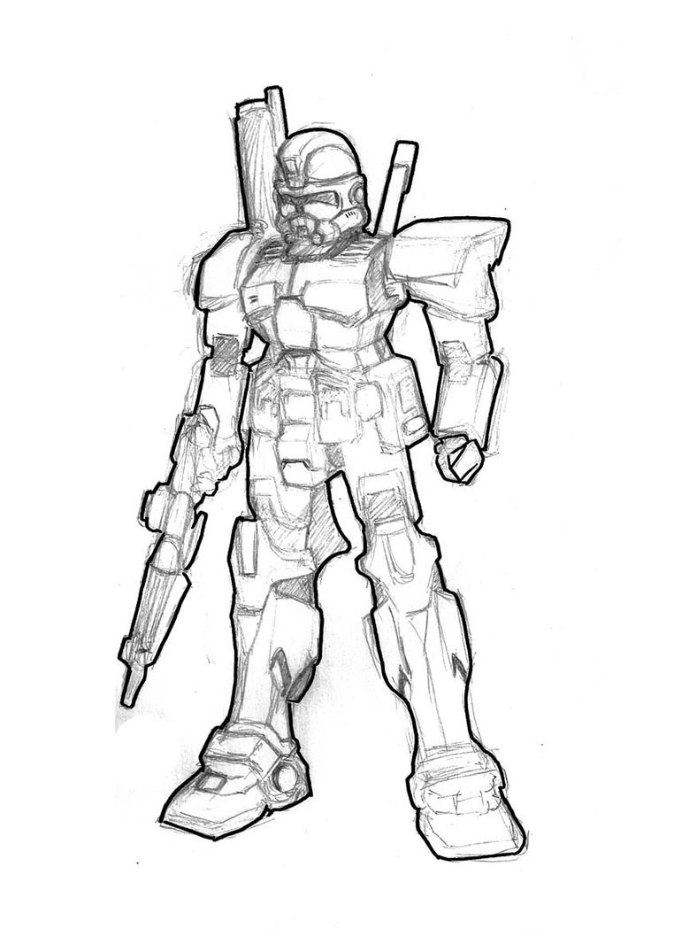 Scout clone helmet coloring pages coloring pages for Clone trooper coloring pages