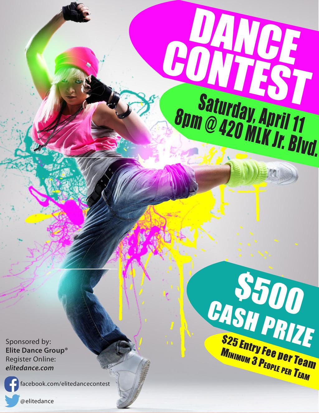 Dance Contest Flyer Idea By Cupycake66 On Deviantart