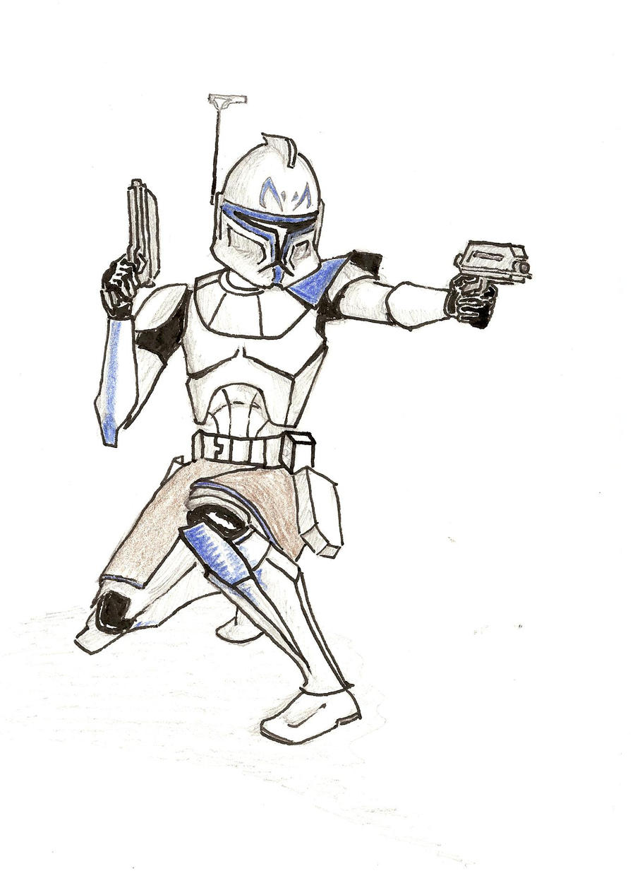 Coloring Pages Captain Rex Season 4 - Worksheet & Coloring Pages