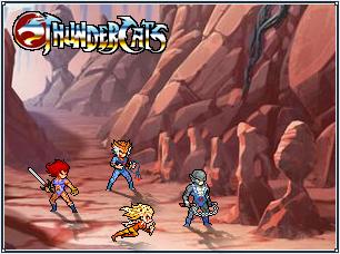 Thunder, Thundercats Ho!!! by MacXxtak