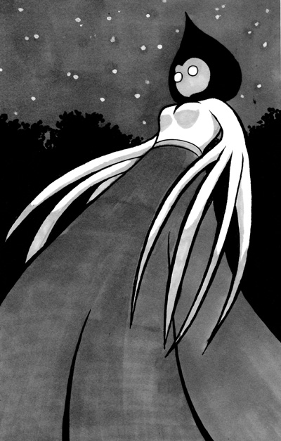 The Flatwoods Monster By Itsasooz On DeviantArt