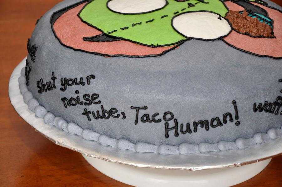 Cake Artist Quotes : GIR cake quotes 1 by 221darksun on deviantART