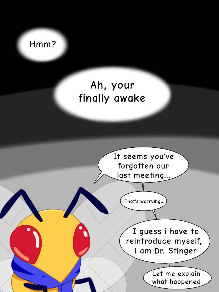 A Beedrill named Dr. Stinger page 1